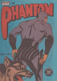 The Phantom (Frew, 1983 series) #725 ([August 1981?])