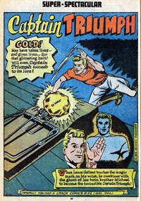 100-Page Super Spectacular (DC, 1973 series) #DC-18 — All that Glitters Is Not Gold (page 1)