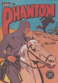 The Phantom (Frew, 1983 series) #727 (September 1981)