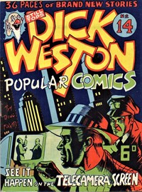See it Happen on the Telecamera Screen, Page 1—Dick Weston Popular Comics (Hoffmann, 1947 series) #14  ([1949?])