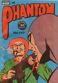 The Phantom (Frew, 1983 series) #747 (June 1982)