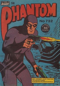 The Phantom (Frew, 1983 series) #732 (November 1981)