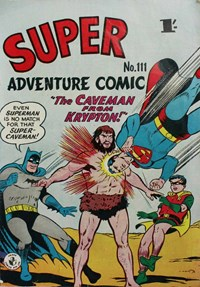 Super Adventure Comic (Colour Comics, 1950 series) #111
