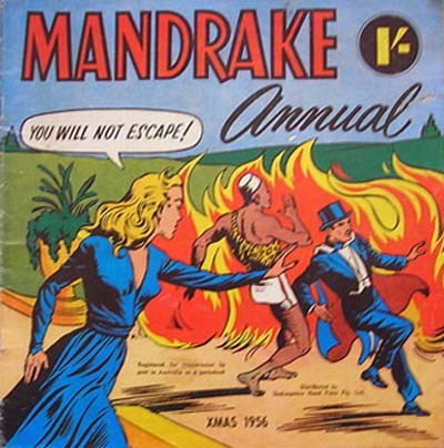 Mandrake Annual (Shakespeare Head, 1954 series) #Xmas 1956 (1956)