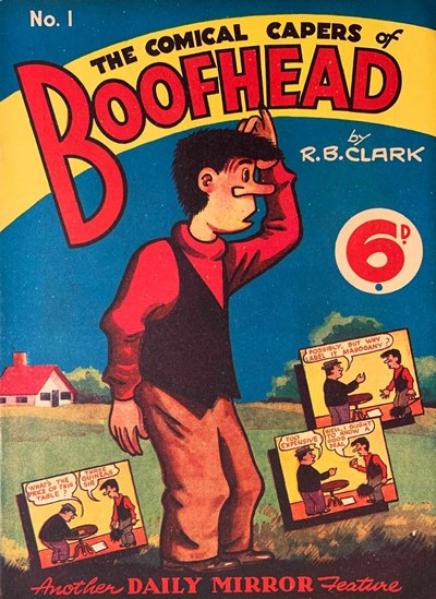 Boofhead (Invincible, 1945 series) #1 ([3 April 1944]) —The Comical Capers of Boofhead