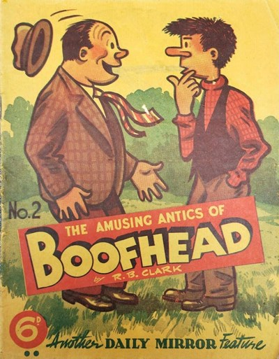 Boofhead (Invincible, 1945 series) #2 ([May 1945]) —The Amusing Antics of Boofhead