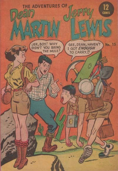 The Adventures of Dean Martin and Jerry Lewis (Yaffa/Page, 1965 series) #15 (1967?)