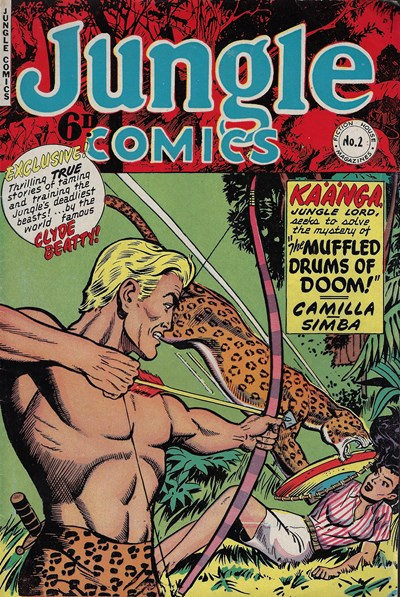 Jungle Comics (HJ Edwards, 1950? series) #2 ([November 1950?])