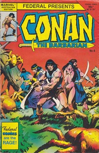Conan the Barbarian (Federal, 1984 series) #6 — Untitled (Cover)