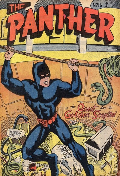 The Panther (Youngs, 1957 series) #16 ([August 1958?])