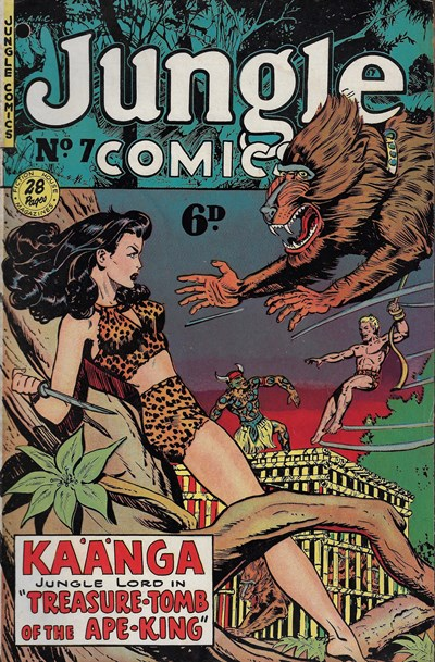 Jungle Comics (HJ Edwards, 1950? series) #7 ([April 1951?])