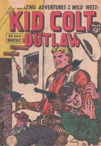Kid Colt Outlaw (Horwitz, 1955? series) #46 ([July 1955?])