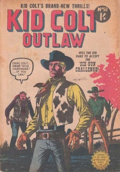 Kid Colt Outlaw (Horwitz, 1955? series) #50 ([November 1955?])