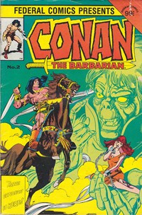 Conan the Barbarian (Federal, 1984 series) #2 — Untitled