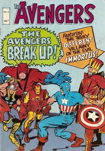 The Avengers (Yaffa, 1977? series) #4 ([October 1979?])