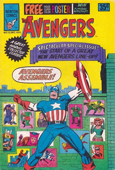 The Avengers (Newton, 1975 series) #12 (December 1975)