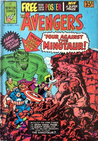 The Avengers (Newton, 1975 series) #13 (December 1975)