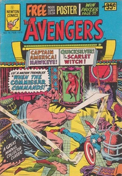 The Avengers (Newton, 1975 series) #14 (February 1976)