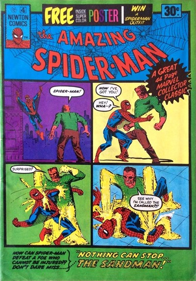 The Amazing Spider-Man (Newton, 1974 series) #4 ([July 1975?])