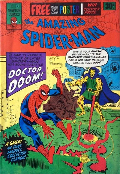 The Amazing Spider-Man (Newton, 1974 series) #5 ([July 1975?])