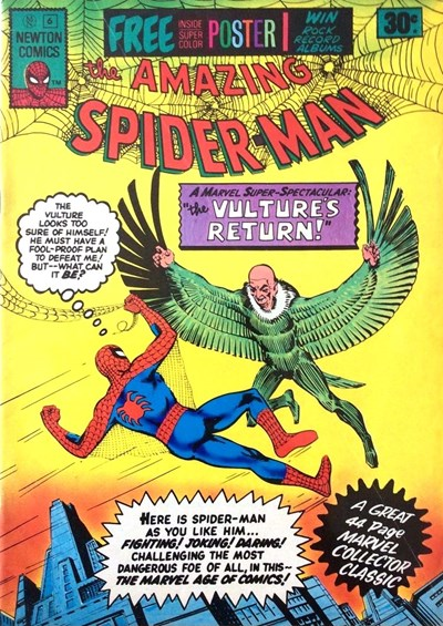 The Amazing Spider-Man (Newton, 1974 series) #6 ([August 1975?])
