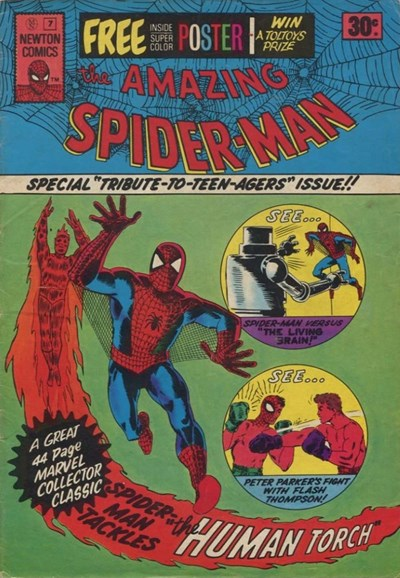 The Amazing Spider-Man (Newton, 1974 series) #7 (August 1975)