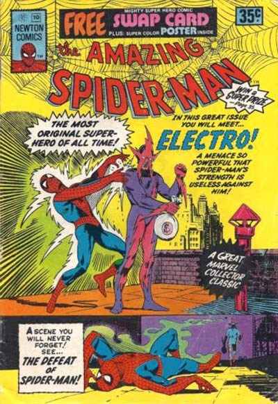 The Amazing Spider-Man (Newton, 1974 series) #10 ([October 1975?])