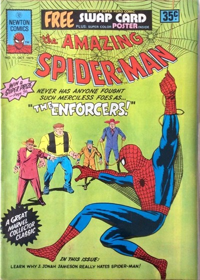 The Amazing Spider-Man (Newton, 1974 series) #11  (October 1975)
