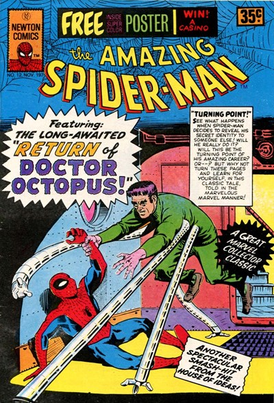 The Amazing Spider-Man (Newton, 1974 series) #12 (November 1975)