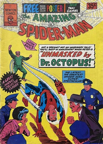 The Amazing Spider-Man (Newton, 1974 series) #13 (November 1975)