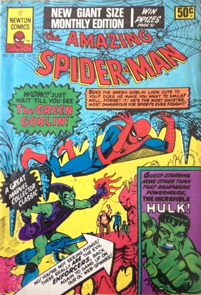 The Amazing Spider-Man (Newton, 1974 series) #15 (December 1975)