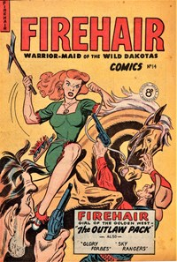 Firehair Comics (HJ Edwards, 1950? series) #14