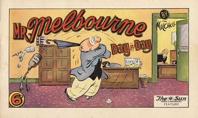 Mr. Melbourne Day by Day (Lawrence Kay, 195-? series)  ([195-??])