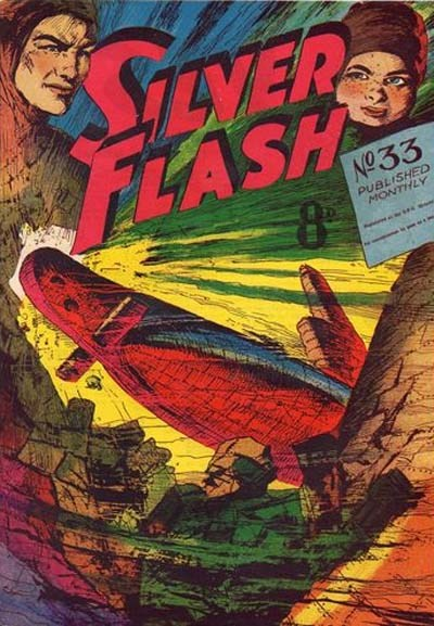 Silver Flash and his Frog-Men (Invincible, 1949 series) #33 ([February 1953?])
