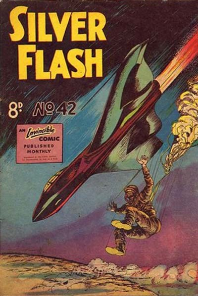 Silver Flash and his Frog-Men (Invincible, 1949 series) #42 ([November 1953?])