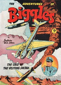 The Adventures of Biggles (Action Comics, 1953 series) #1