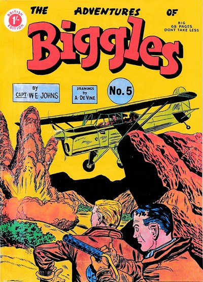 The Adventures of Biggles (Strato, 1959? series) #5 ([August 1959])