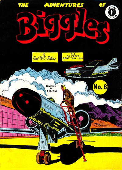 The Adventures of Biggles (Strato, 1959? series) #6 ([September 1959?])