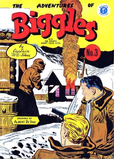 The Adventures of Biggles (Strato, 1959? series) #3 ([June 1959])