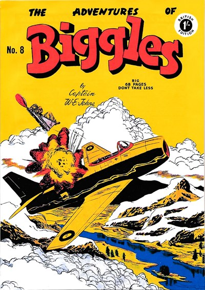 The Adventures of Biggles (Strato, 1959? series) #8 ([November 1959?])