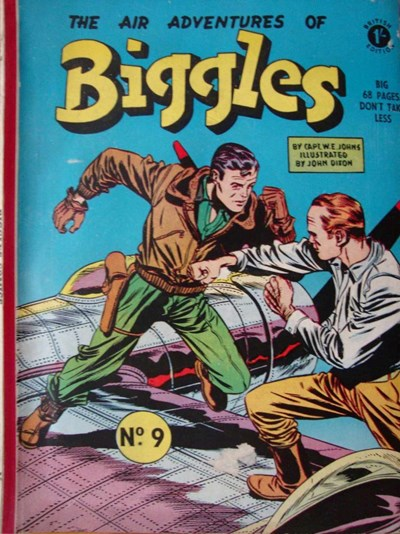 The Adventures of Biggles (Strato, 1959? series) #9 ([December 1959?]) —The Air Adventures of Biggles