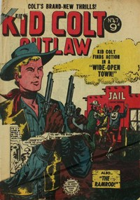 Kid Colt Outlaw (Horwitz, 1955? series) #47 ([August 1955?])