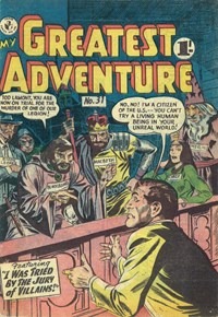 My Greatest Adventure (Colour Comics, 1955 series) #31 ([October 1957])