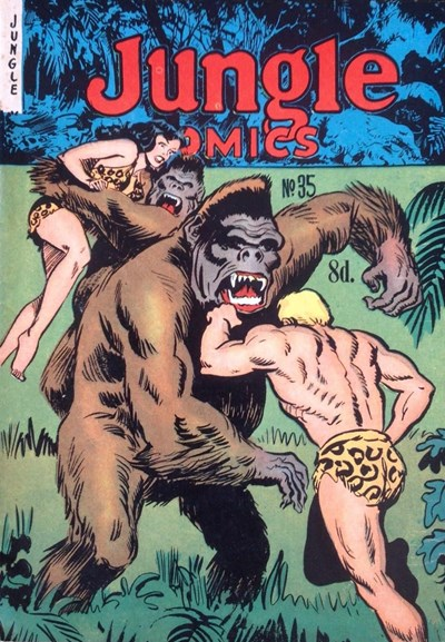 Jungle Comics (HJ Edwards, 1950? series) #35 ([August 1953])