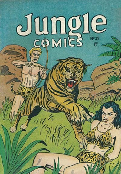 Jungle Comics (HJ Edwards, 1950? series) #39 ([1953?])