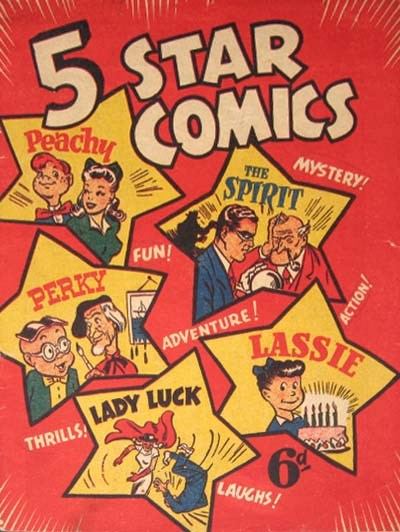 5 Star Comics (Young's, 1949? series) #O.S. (1949)