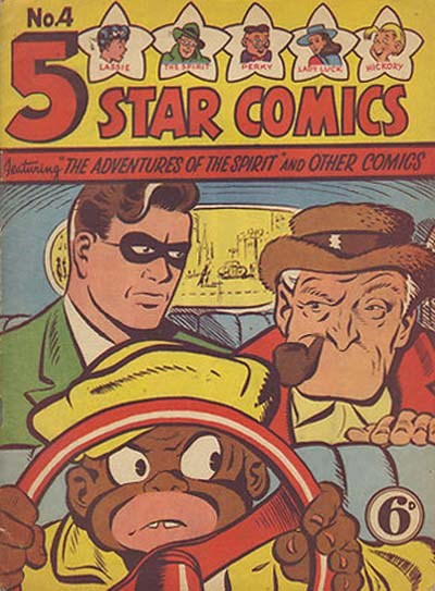 5 Star Comics (Young's, 1949? series) #4 ([1949?])