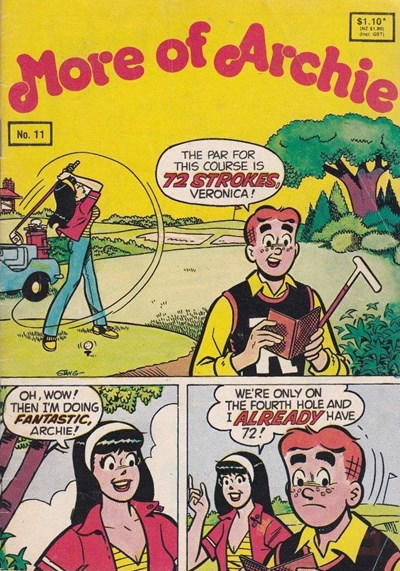 More of Archie (Yaffa, 1980? series) #11 (1990)