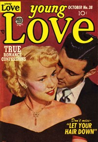 Young Love (Prize, 1949 series) v4#8 (38) — Let Your Hair Down