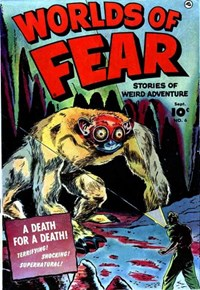 Worlds of Fear (Fawcett, 1952 series) #6 — A Death for a Death